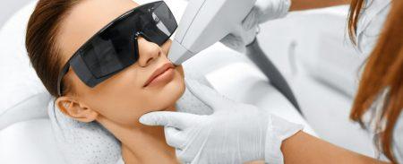 Zabiegi laserowe na twarz