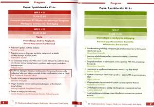 XV Miedzynarodowy Kongres Medycyny Estetycznej i Anti Aging Program 1