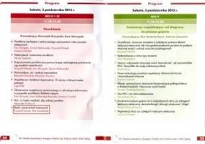 XV Miedzynarodowy Kongres Medycyny Estetycznej i Anti Aging Program 2