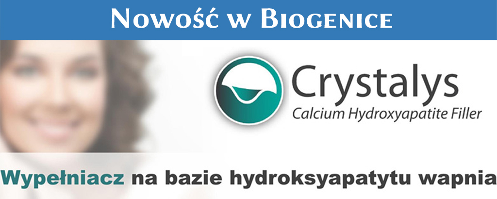 Crystalys nowość w biogenice Poznań