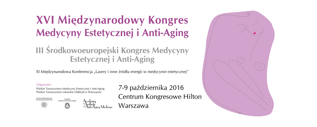 Ikona XVI Międzynarodowy kongres medycyny estetycznej i Anti-Aging