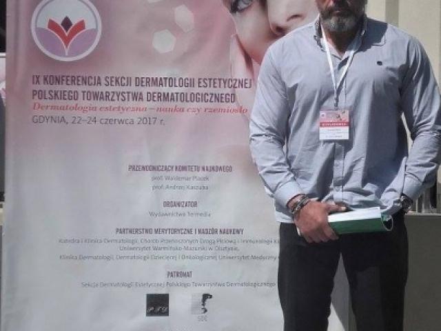 krzysztof-luksza-na-konferencji-dermatologia-poznan-biogenica